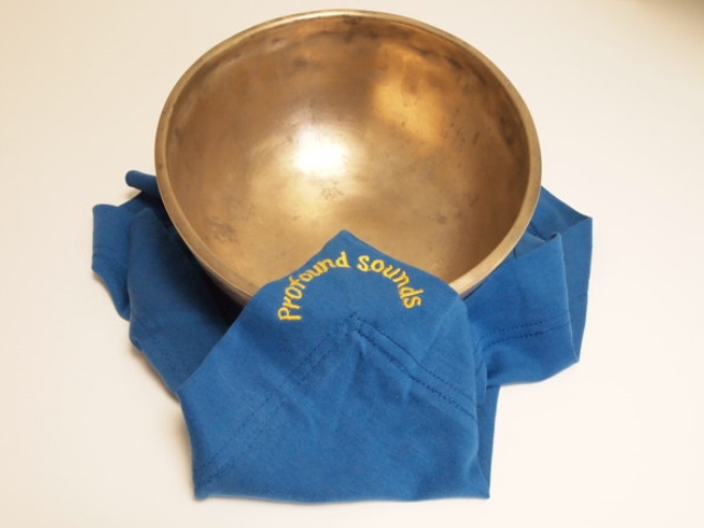 """12"""" Royal Blue Cover Cloth for singing bowls"""