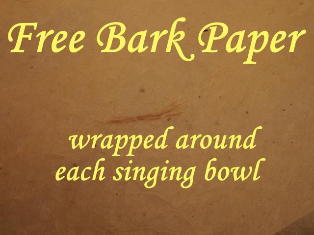 Free Bark Paper notice