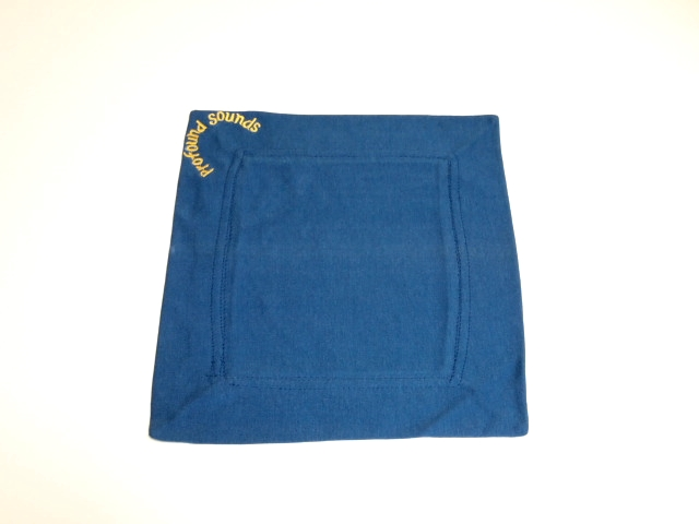 "12"" Royal Blue Rib Cover Cloth for small singing bowls"